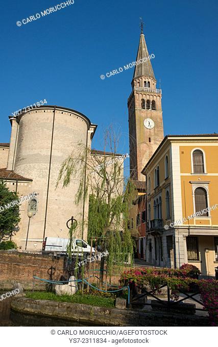 Duomo di Sant'Andrea Apostolo, Portogruaro, Venice province, Italy, Europe