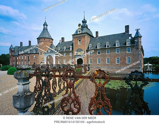 Castle Anholt, Isselburg city, Munster county, Northrhine-Westfalia, Germany, Europe
