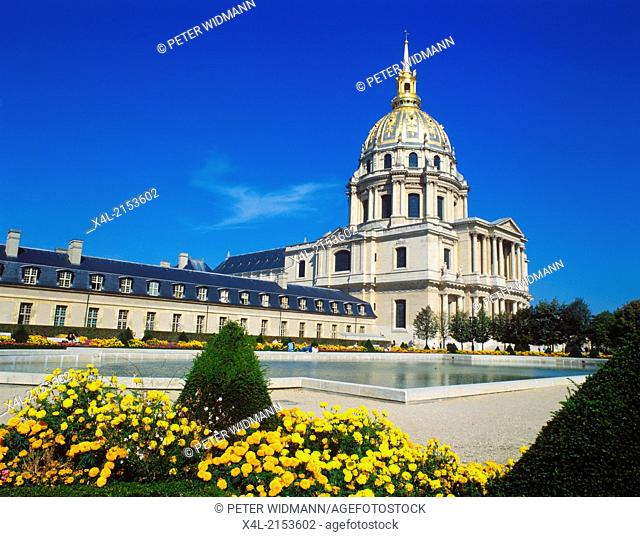 Dôme des Invalides, France, Ile-de-France, Paris