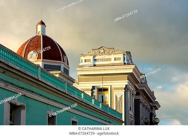 Cuba, Cienfuegos, old town