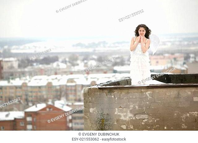Angel on the roof