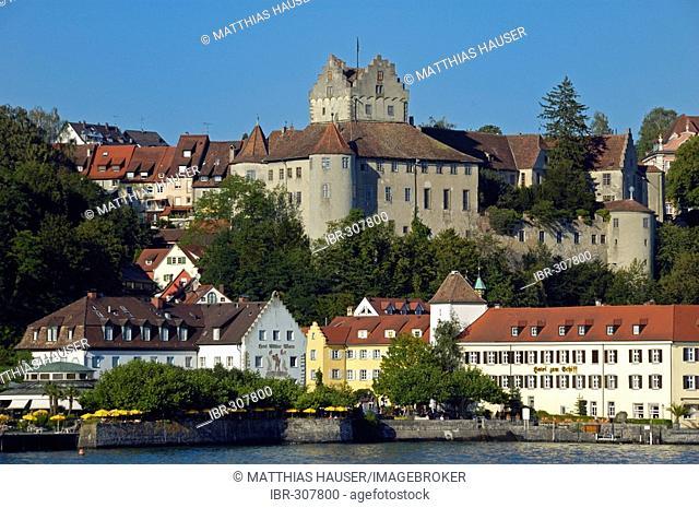 Meersburg, Lake Constance, Baden-Wuerttemberg, Germany, Europe