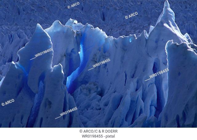Glacial, ice, Perito, Moreno, Glacier, Argentina