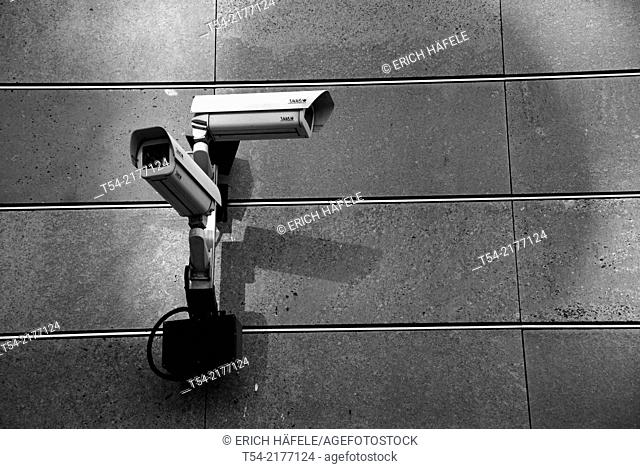 Observation Camera at German Bundestag in Berlin