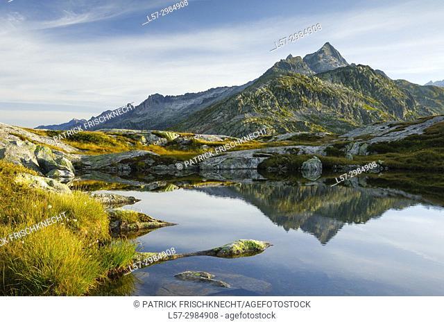 Gaerstenhoerner - 3189 m, Switzerland