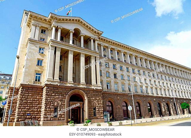 Presidency of Bulgarian republic in Sofia