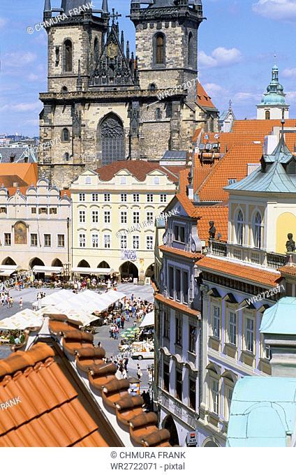 90900068, Czech Republic, Prague, Old Town Square
