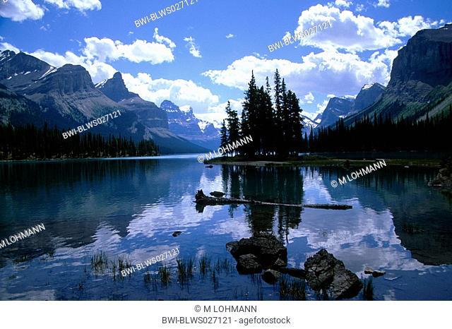 Maligne Lake, Canada, Alberta, Jasper NP