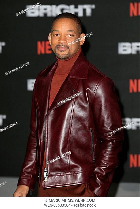 The European Premiere of 'Bright' held at the BFI Southbank - Arrivals Featuring: Will Smith Where: London, United Kingdom When: 15 Dec 2017 Credit: Mario...