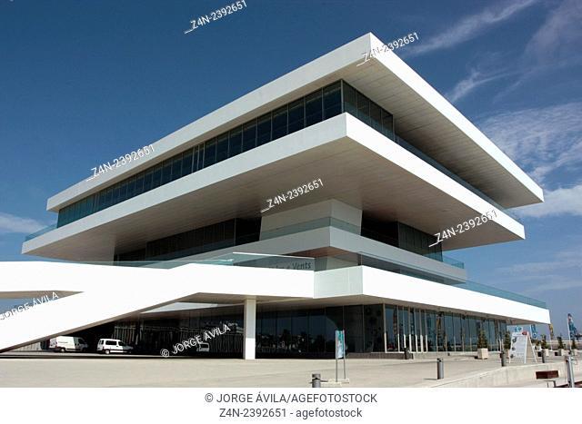 Americas'Cup Building, Valencia, Spain