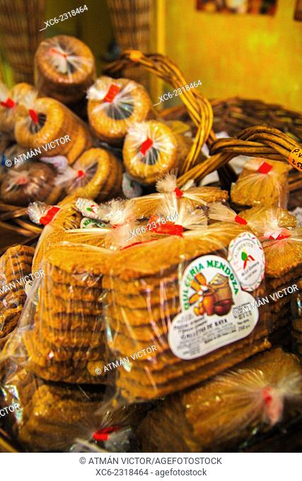 cookies, cheese and honey made in La Gomera island