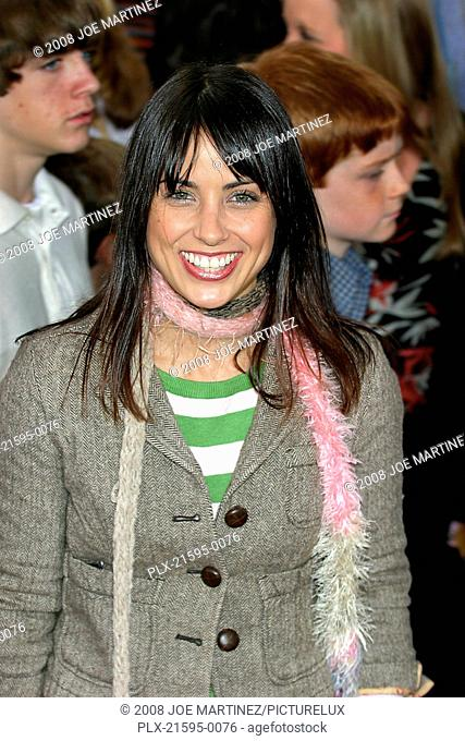 Dr. Seuss's: The Cat in the Hat Premiere 11-8-03 Constance Zimmer Photo By Joe Martinez