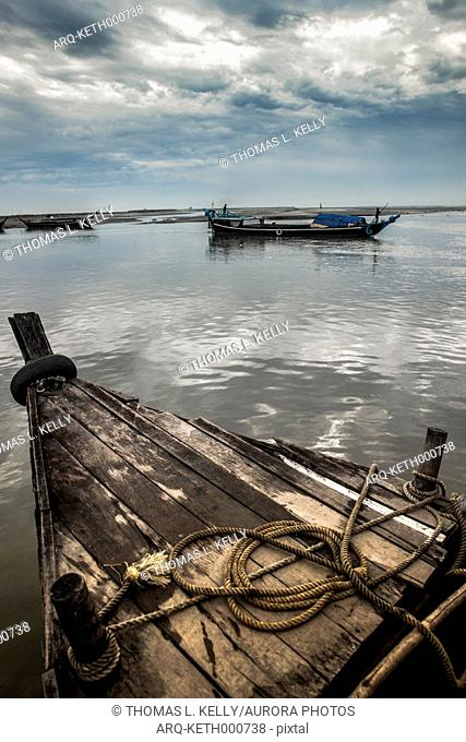 Ferry Is The Only Mode That Transport All Sorts Of Commodities In And Out Of Majuli Island, Assam