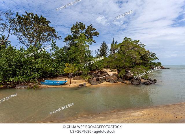 Siar Beach, Lundu, Sarawak, Malaysia