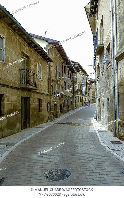 View of the town of Labastida. Rioja Alavesa, Alava, Basque Country, Spain