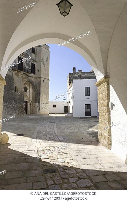 Benedictine abbey of San Vito Polignano a Mare Puglia Italy on July 12, 2018