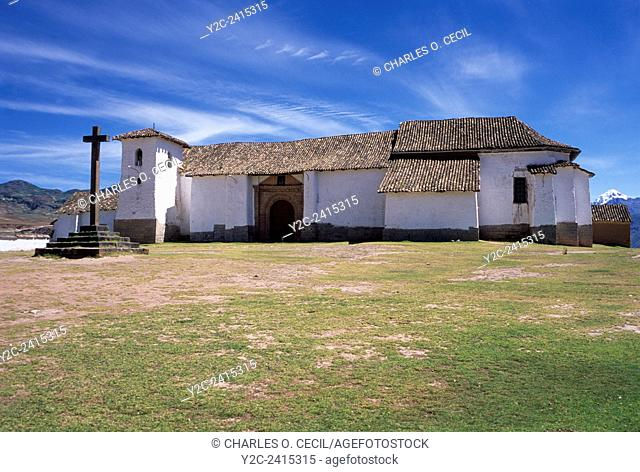 Peru, Maras. San Francisco de Asis Church, 16th. century