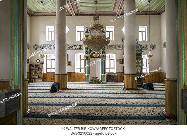 Georgia, Batumi, Batumi Ortojame Mosque, interior