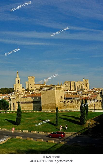 Pope's Palace, Avignon, Vaucluse Department, Provence, France