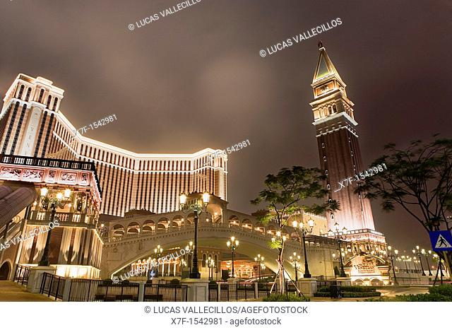 Venetian hotel & casino,Taipa island,Macau,China