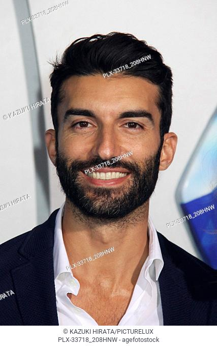 """Justin Baldoni 12/12/2018 """"""""Aquaman"""""""" Premiere held at the TCL Chinese Theatre in Hollywood, CA Photo by Kazuki Hirata / HNW / PictureLux"""