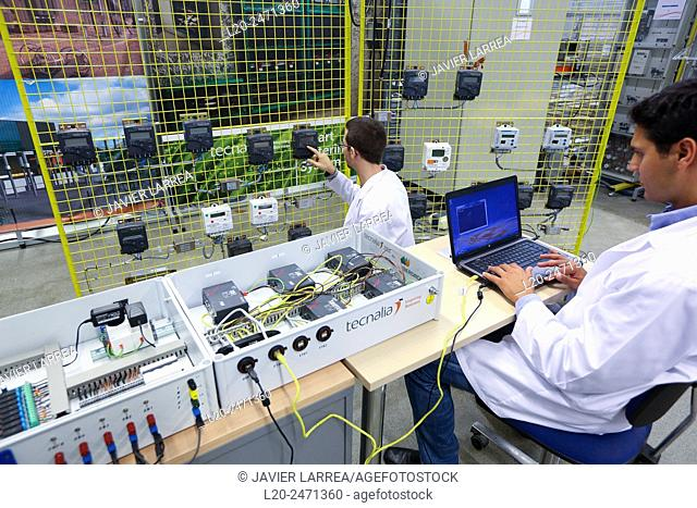 Researchers. Electrical Cabinet Performance Counters. Low Voltage Micro Network. Testing and Certificates Services for Smart Grids and Smart meters