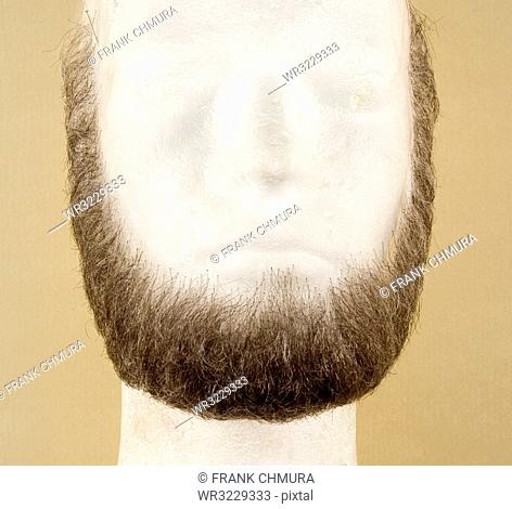 Artificial Beard for Film and Theater Production