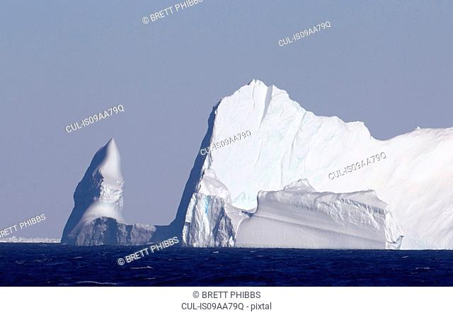 Iceberg in the Southern Ocean, 180 miles north of East Antarctica, Antarctica