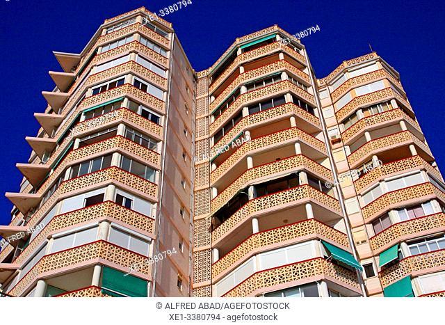 Apartment building, Playa San Juan, Alicante, Spain