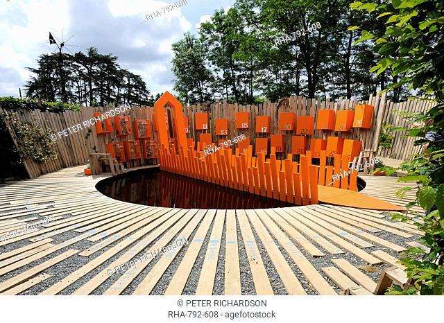 Festival International des Jardins International Garden Festival display, Chateau de Chaumont, Chaumont Sur Loire, Indre-et-Loire, Loire Valley, France, Europe