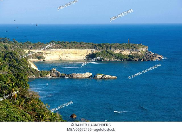 The Dominican Republic, north-east, Cabrera, Cabo Frances Viejo