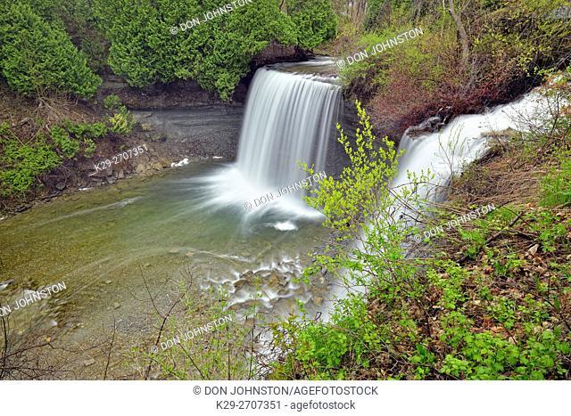 Kagawong River and Bridal Veil Falls, Kagawong, Ontario, Canada