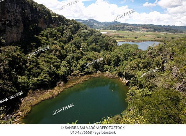 Chinkultic, Chiapas, Mexico