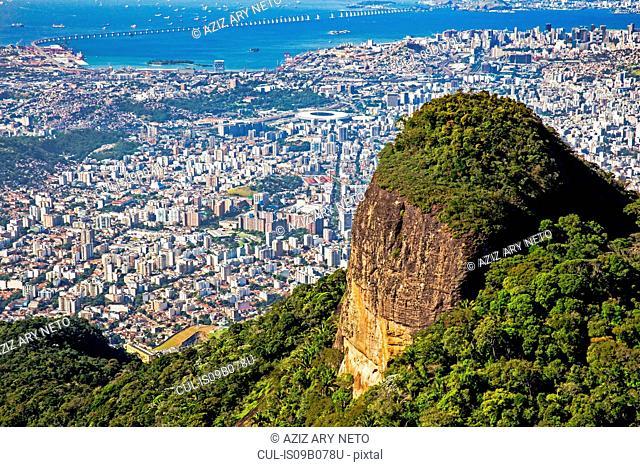Maracana, Guanabara Bay, RioûNiter¾i Bridge, Zona Norte, Tijuana, Rio de Janeiro, Brazil