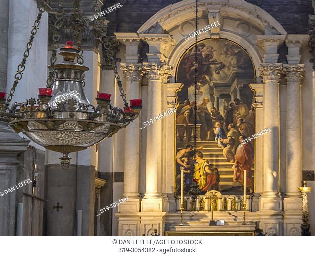 Santa Maria della Salute basilica, Venice, Italy