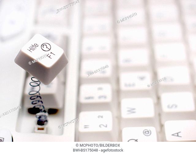 computer keyboard, help key