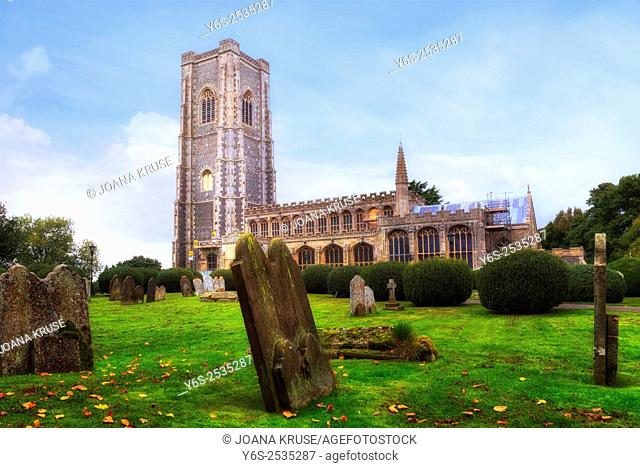 St Peter and St Paul's Church, Lavenham, Suffolk, England, United Kingdom