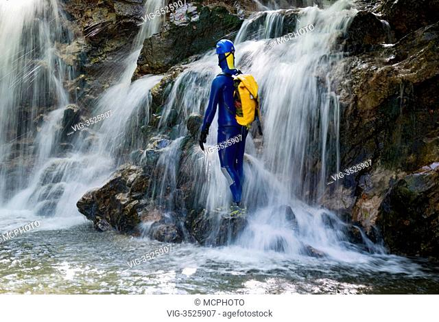 Canyoning in austria - 19/09/2009