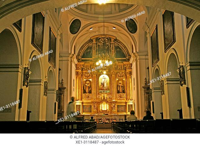Convent of Santa Ana, church of the Discalced Carmelites, Pamplona, Navarra, Spain