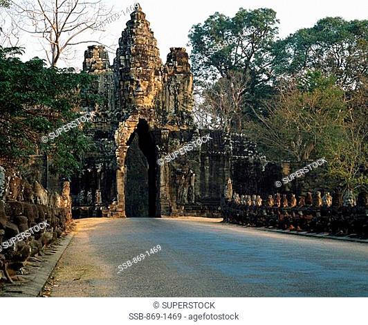 South Gate Angkor Thom Cambodia
