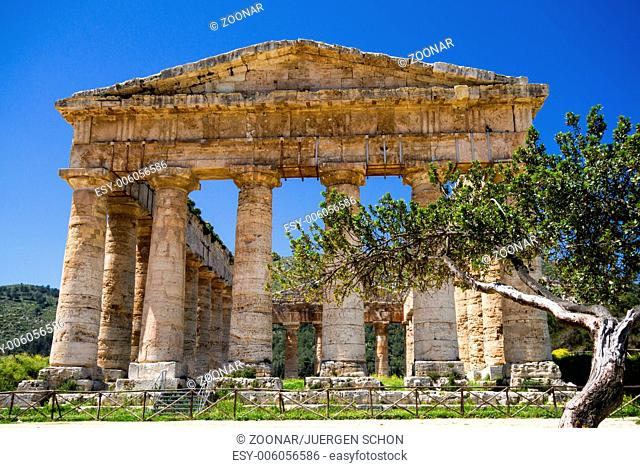 Ancient Greek Temple of Segesta