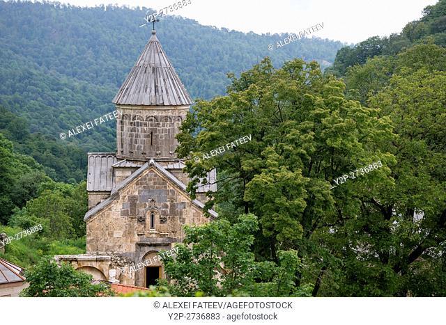 Surb Astvatsatsin church at Hagartsin monastery in Armenia