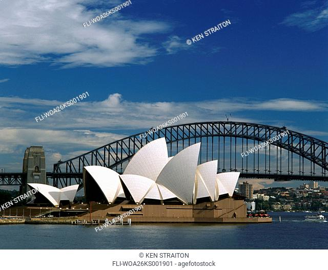 K.Straiton, Sydney Opera House and Harbour Bridge, Sydney, Australia