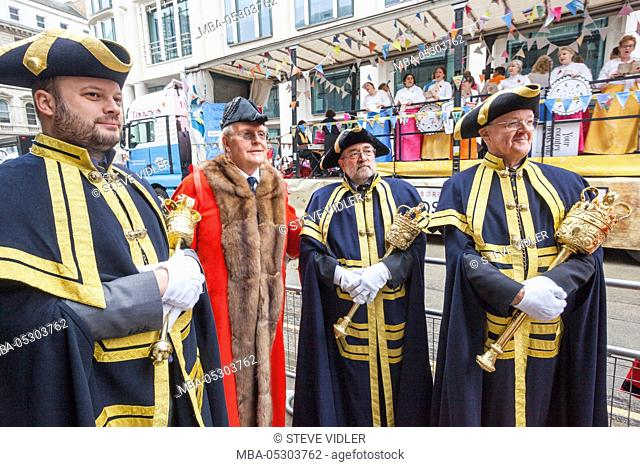 England, London, The Lord Mayor's Show, City of London Aldermen