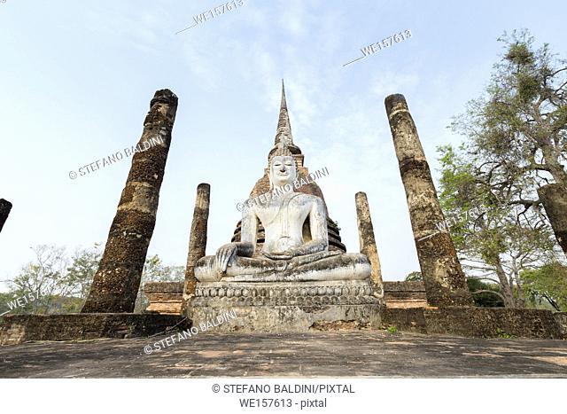 Wat Sa Sri, Sukhothai historical park, Sukhothai, Thailand