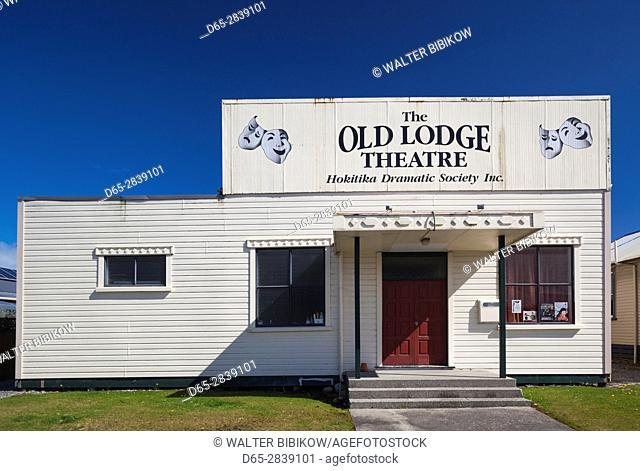 New Zealand, South Island, West Coast, Hokitika, Old Lodge Theater