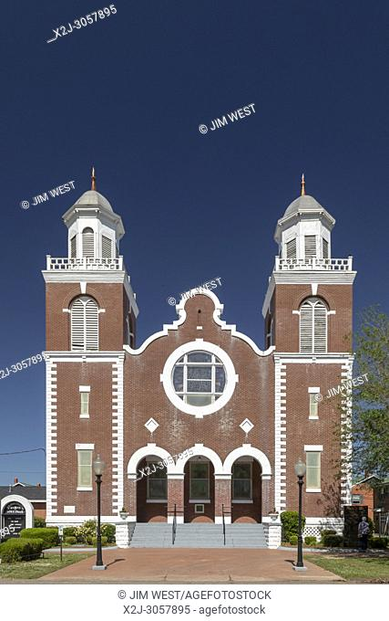 Selma, Alabama - The Brown Chapel AME Church, where Martin Luther King Jr. led a struggle for voting rights in 1965 that climaxed with the Selma to Montgomery...