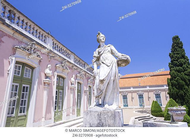 Queluz National Palace, Queluz, Lisbon, Portugal, Europe