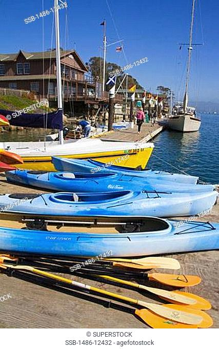 Kayak Rental,Embarcadero,City of Morro Bay,San Luis Obispo County,California,USA