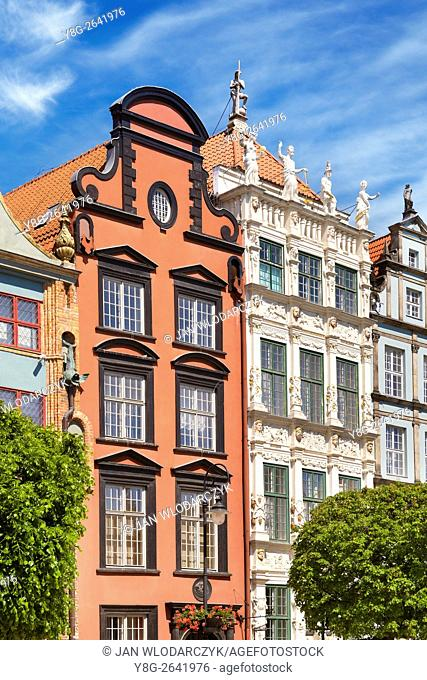 Artus Court at the Long Market, Gdansk Old Town, Poland